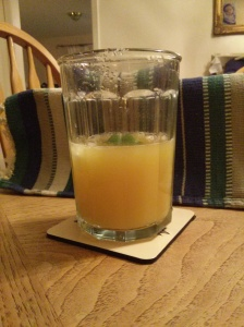A refreshing non-alcoholic treat